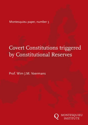 Covert Constitutions triggered by Constitutional Reserves