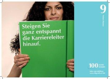 eitere Themen Infos zum Jubiläum www.vlbg.wifi.at/100