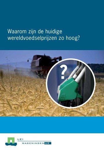 Waarom zijn de huidige wereldvoedselprijzen zo ... - Akkerbouw.info