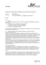 Verslag Bestuurdersoverleg Maurick 7 maart 2013 - Bouwend ...