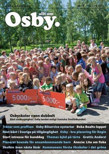 Osbyskolor vann dubbelt - 100% lokaltidning