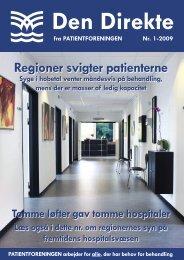 Den Direkte 0109 05.indd - Patientforeningen