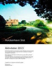 pdf (2720 kb) - Holckenhavn Slot