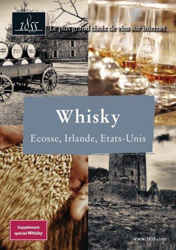 whisky, ecosse, irlande, etats-unis - 1855