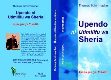 Upendo ni Utimilifu wa Sheria Insha juu ya Maadili - Martin Bucer ...