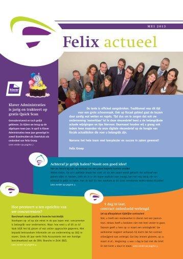 Felix actueel - Klaver Administraties
