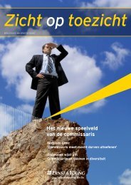Zicht op toezicht.pdf - vB Executive Consultancy