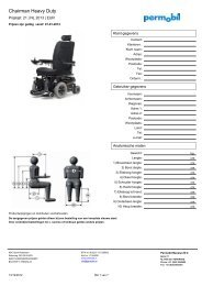 Chairman Heavy Duty - Permobil