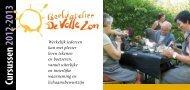 Cursussen 2012-2013 - De Volle Zon