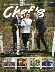 Chef's Magazine - Uitgeverij Vizier