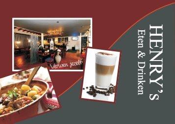 Menu kaart per bladzijde.cdr - Henry's Eten en Drinken in Veendam