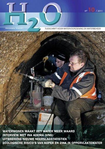 Inhoud H2O nummer 10, mei 2011 - H2O - Tijdschrift voor ...