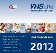 Download: Vhs-Jahresprogramm