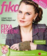 Tidningen Fika Vår 2010 - Selecta