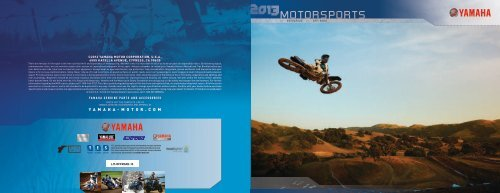 2013 MOTORSPORTS - Yamaha Motorsports Home