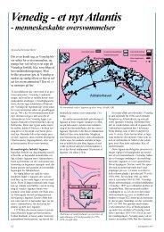 Venedig - et nyt Atlantis - GeologiskNyt