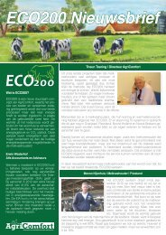 ECO200 Nieuwsbrief