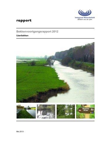 Bekkenvoortgangsrapport 2012 - Integraal Waterbeleid