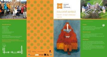 Educatief aanbod - Lerarenkaart