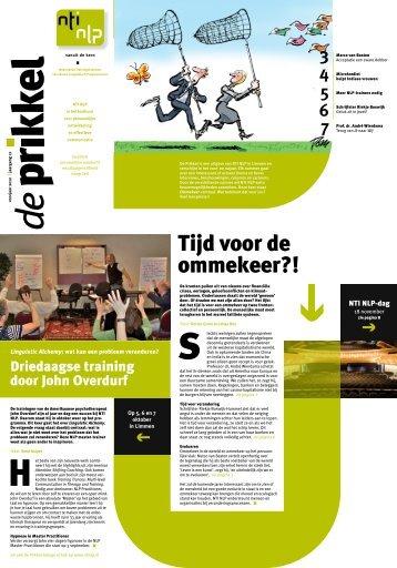 de Prikkel voorjaar 2012 - NTI NLP