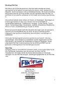Programmaboekje Open Dag Flik-Flak 2011 - Page 3