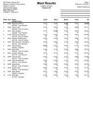 3 - Illinois USA Gymnastics
