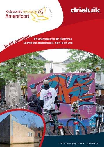 September 2011 - Protestantse Gemeente Amersfoort