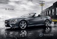 SL-Klasse. - Mercedes-Benz in België