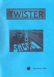 • December 2004 - Studievereniging TWIST