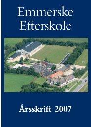 Emmerske Efterskole, Aabenraavej 14, 6270 Tønder