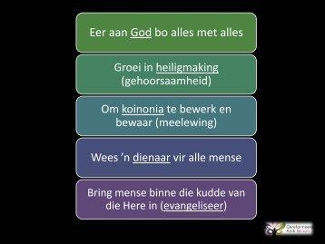 Preekskets - gkbenoni.co.za