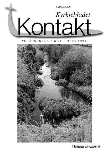Kontakt nr. 1 2009 - Meland kyrkjelyd