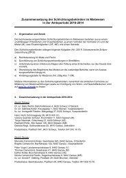 Amtsperiode 2010-2014 - HEV Kanton Schwyz