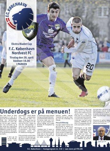 Underdogs er på menuen! - FC København