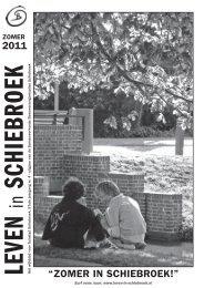 """2011 """"ZOMER IN SCHIEBROEK!"""" - Leven in Schiebroek"""