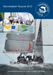 Nieuwsbrief Najaar 2012 - Noordzee Club