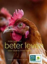 Ieder jaar een Beter Leven voor steeds meer dieren - Jan Dobbe ...