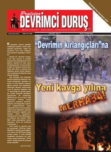 17 Ocak 2013 - Proleter Devrimci Duruş