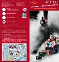 Download our brochure here - Danmarks Jernbanemuseum