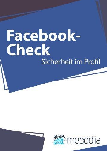 Facebook-Check - Sicherheit im Profil! - mecodia