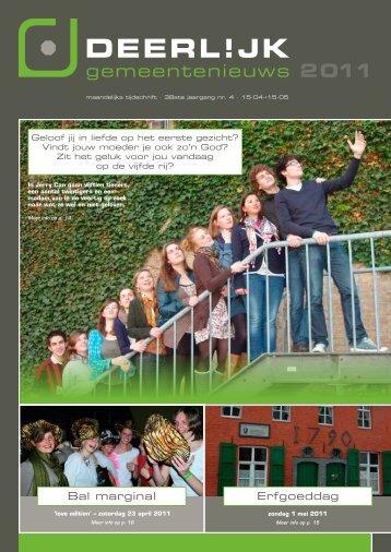 gemeentenieuws 2011 - Deerlijk