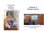 Velkommens folder 2.pdf - BørneIntra i Svendborg Kommune