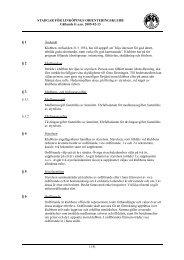 Stadgar reviderade 2005-02-13 - Linköpings OK