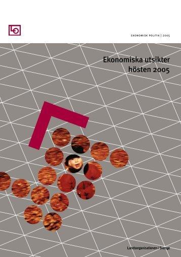Ekonomiska utsikter hösten 2005