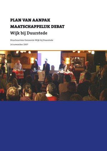5. Het maatschappelijk debat - gemeente Wijk bij Duurstede