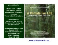 www.aclimateforlife.org/ Michael P. Totten - Carbon trading in PNG