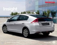 Insight - Nieuwe Auto Kopen