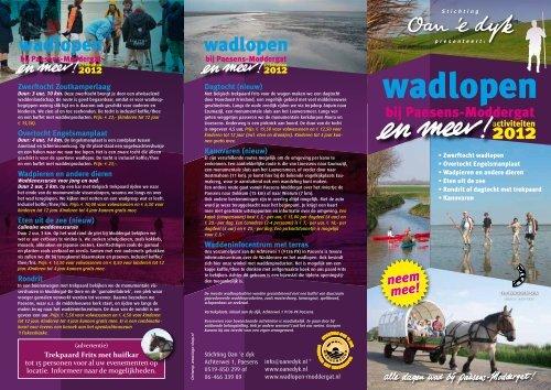 bekijk onze nieuwe activiteitenfolder 2012 (pdf) - Stichting Oan 'e dyk