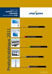 Brochure downloaden (PDF) - Gatesweb Benelux