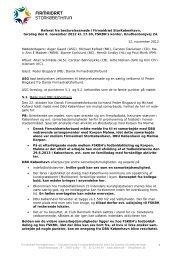 1 Referat fra bestyrelsesmøde i Firmaidræt StorKøbenhavn, torsdag ...